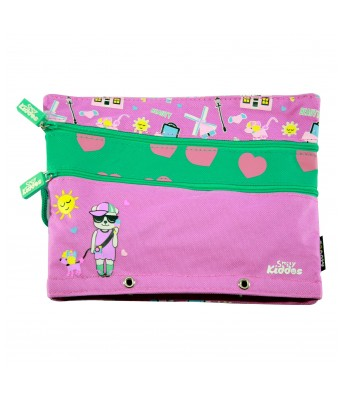 Fancy a5 pencil case  (Purple)