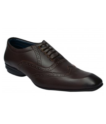 Molessi Brown Brogue Formal Shoes