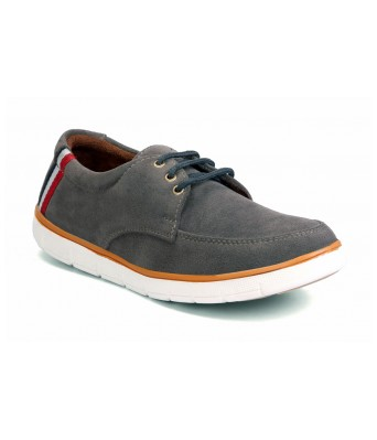 Molessi Grey Suede Casual Shoes