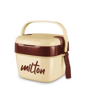 Milton Cubic Big Tiffin Box, 1100 ml, Ivory