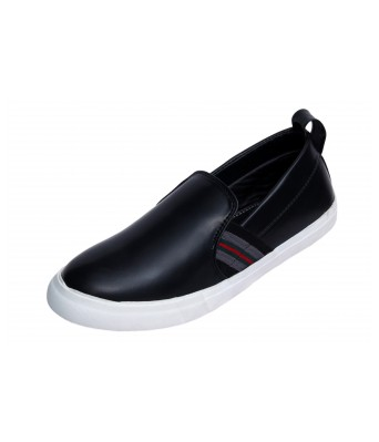 Molessi Black Lifestyle Loafer Shoes