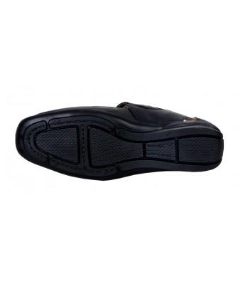Shoes Kingdom Black Color Stylish Casual Sandals for Men & Boys