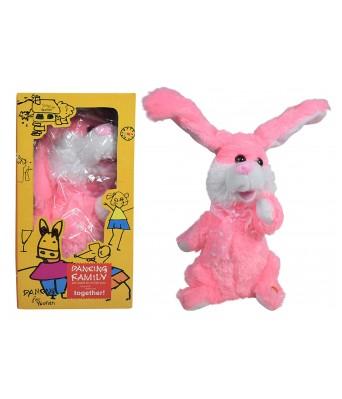 Dancing & Singing Plush Rabbit Cute Dancing Rabbit Singing Music Plush Soft Toy Rabbit Ears, Hands Moves Up Down Premium Quality Fluffy Bunny, Dancing Musical Bunny (Rabbit) Toy 30cm