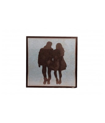 Nirmiti Creation Painting of Teen Couple- Size 60 x 60 x 2 cm