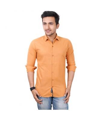 Mens world Orange casual  shirt