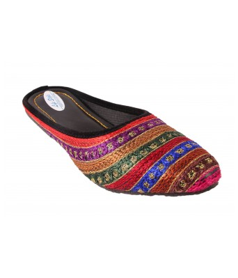 AMAZING TRADERS  Fabric Slipper For Womens,Girls (Multi Color)
