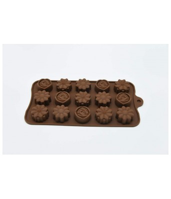 DSC Silicon Chocolate Mould (Pack of 2)