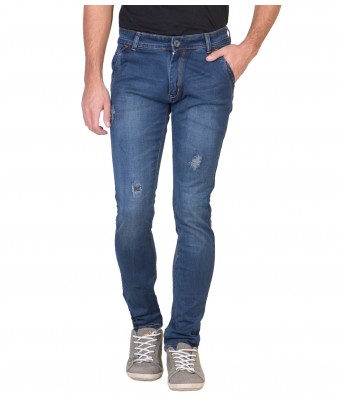 Spanish MensSlim Fit Stretchable Jeans