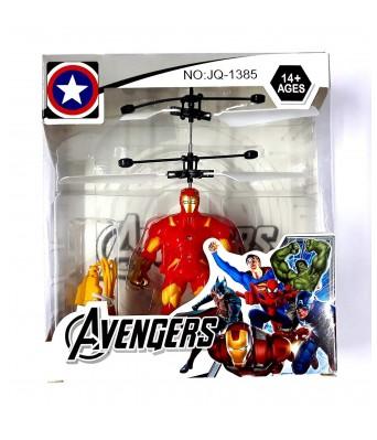 Paras Traders Avenger Spiderman Flying Hero Hand Sensor Control Toy