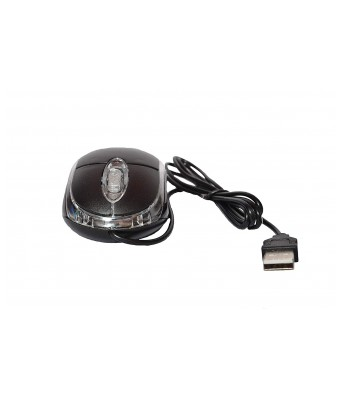 Terabyte 3D Optical Wired USB Mouse for Computer/Laptop  Black