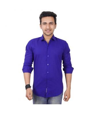 Mens world Blue  casual  shirt