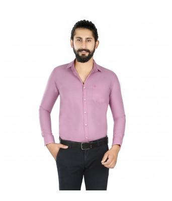 Lisova Purple Slim Fit shirt