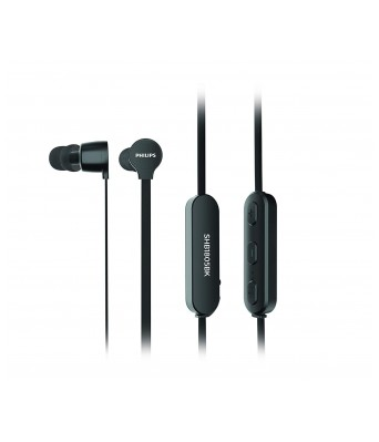 Philips SHB1805BK/10 Wireless in-Ear Headphones with Mic (Black)