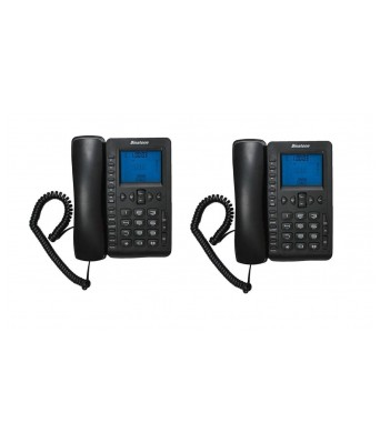 Concept 800N (Two Way Speaker) - Pack of 2 Pcs Landline Phone for Home & Office