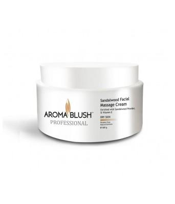 Aroma Blush Sandalwood Facial Massage Cream (500 g)