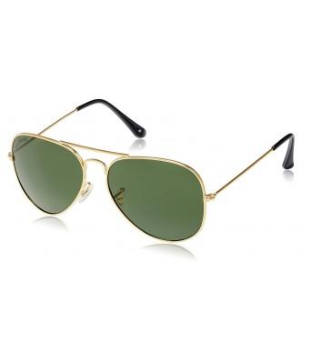 Unique Lens Unisex Stylish Polarized Aviator Sunglasses - Grey
