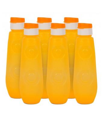 G-PET FB 1 Ltr Blue Bell (PP) - Yellow  Pack Of 6 Bottles