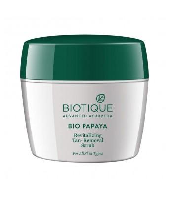 Biotique Bio Papaya Revitalizing Tan-Removal Scrub, 235g
