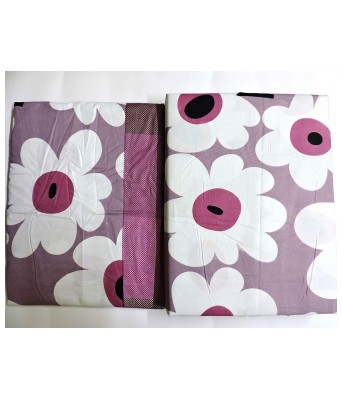 Paras Traders Presents Fine Quality 244 TC/ 100% Cotton Bedsheet Having a Excellent Fabric Quality/with 2 Pillow Cover