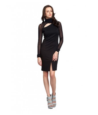 Black Turtel Neck Dress