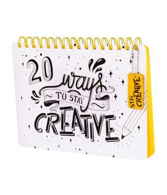 Stay Creative Notepad