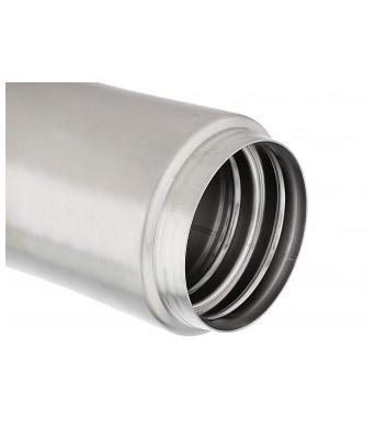 Milton Thermosteel Optima Flask, 350ml, Steelplain,Silver