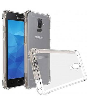 NIK TECH ONLINE Back Cover for Samsung Galaxy J8 (TRANSPATENT, Flexible Case)