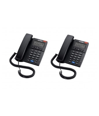 Concept 700 (Two Way Speaker) - Pack of 2 Pcs Landline Phone for Home & Office