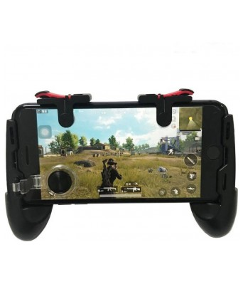 RPM Euro Games PUBG Controller Mobile Game Trigger for Android, Apple. L1R1 Fire and Aim Button PUBG Trigger Shooter Joystick Gamepad That Works On Android and IOS Phones Gaming Accessory Kit  (Black, For Android, iOS)