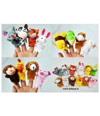 12 Finger Puppets