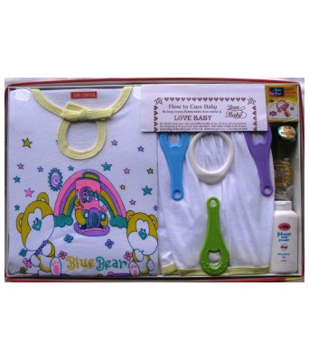 Love Baby Baby Care Combo (Yellow)
