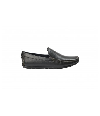 Boggy Confort Stylish Black Color Slip on Loafers for Mens & Boys