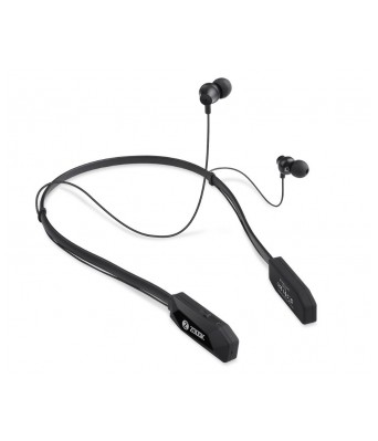 Zoook Bluetooth Neckband Stereo Headset With Mic (upto 20Hours Backup)