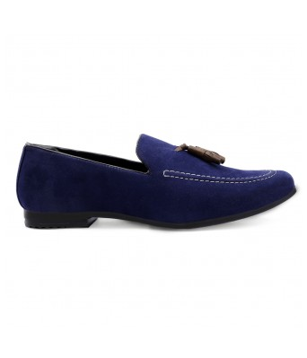 Bxxy Men's Casual Suede Material Loafer & Mocassin Shoe