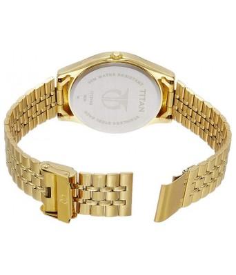 Titan Men's Golden Watch 1713ym01