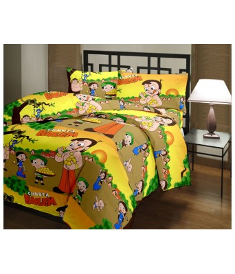 Color Fall Cotton Baby Cartoon Single Bed AC Quilt / Dohar
