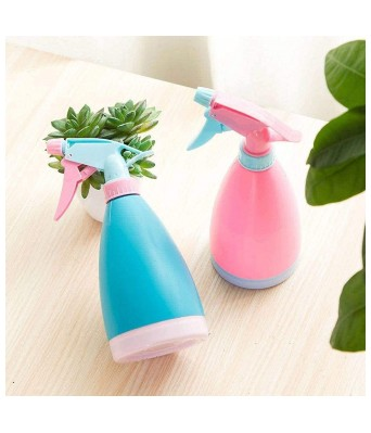 PREM ZONE Spray or Mist Bottle Multipurpose Plastic Unbreakable Sprayer For Hair Salon Professional Use Home and Office Cleaning - 500ml (5)