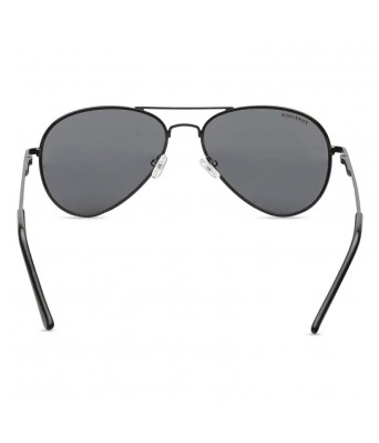 FASTRACK PILOT SHINY BLACK 100% UV PROTECTED SUNGLASSES FOR GUYS