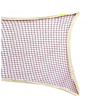 Queen Sports Industries Cotton Badminton Net (Maroon)