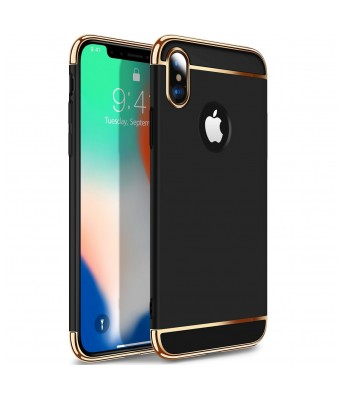 iphone X Sleek Design Cover 3 In 1 mobile case Blue,Red,Gold