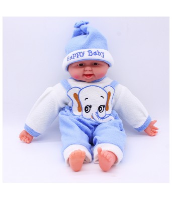 LAUGHING Laughing Baby Girl Big Model Stuffed Doll Soft Toy