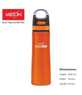 Milton Boom 900 Stainless Steel Bottle with Wireless Bluetooth Speaker, 700 ml, Orange