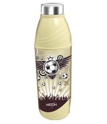 Milton Kool 'N' Sporty (900) School Range 750 ml Water Bottles  (Set of 1, Light Brown, Cream)