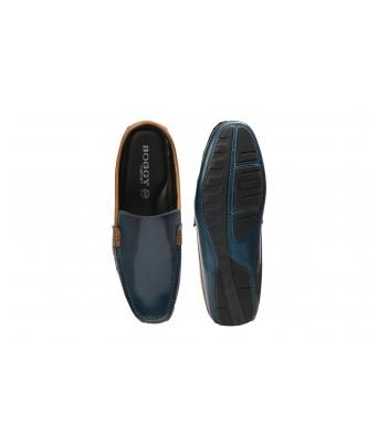 Boggy Confort Stylish Blue Color Slip on Jutte Loafers for Mens & Boys