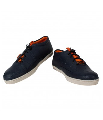 Men Blue Casual Shoes Yellow Tree