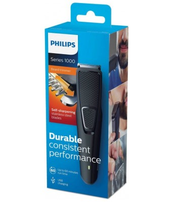 Philips BT1215 Cordless Trimmer for Men  (Grey)