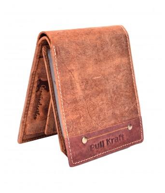 BullKraft Mens Casual Formal Genuine Leather Wallet