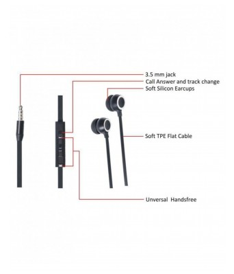 M9 High-Fidelity Metal Bass Earphones With Mic Dynamic Earphone superior design Earphones14