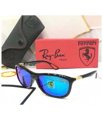 ferarri new aqua blue fancy sunglasses