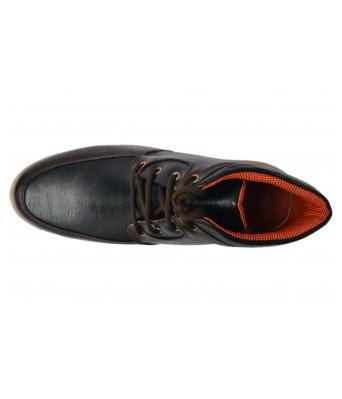 Molessi Stylish Brown & Blue Boot